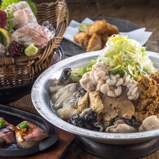 【宴会】旬の幸を堪能!四十八漁場の名物季節鍋をぜひ!