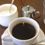 kurinoki - ランチセットのコーヒー