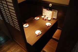 赤羽籠太 - 【2F:テーブル席】個室テーブルを多数ご用意!