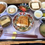 三良坂地豆腐処 豆遊 - 福福膳