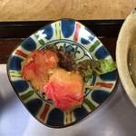三良坂地豆腐処 豆遊 - 生麩天婦羅