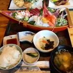 大浜丸 魚力 - 大漁舟盛定食