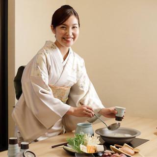 大切な方のおもてなしに…樋口自慢の四季折々の日本料理
