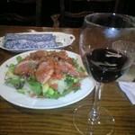 カフェ・ド・ロレーヌ - サラダ。鴨が美味しかった!