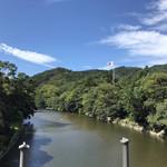 116583123 - 五十鈴川(宇治橋から)