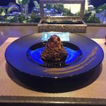 116584066 - ひつまぶし 葛飾北斎 赤富士。美味し。