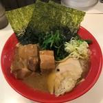 麺家 鶏豚大将 - 料理写真:極 角煮のせ 鶏らーめん醤油