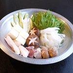 比内や - 比内地鶏のスープで炊き上げる水炊き鍋