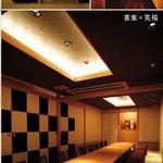 三福 - 完全個室の奥座敷。趣の違う部屋が5部屋。