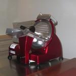イル アオヤマ - 生ハム用の機械