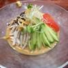 神来 - 料理写真:涼麺(並・ゴマ)