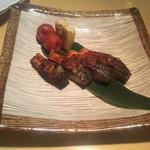 北陸王 - * こんか鯖の炙り 1,280円