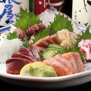 豊洲市場より直送の《鮮魚》*旬の味をリーズナブルに召し上がれ