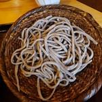 蕎麦切り 翁 - 料理写真:田舎蕎麦