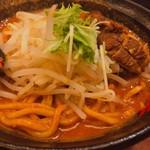 辛麺 真空 - ◆山炙りトロブタ増し 980