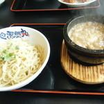 風雲丸 - 石焼つけ麺(大盛)