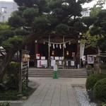 HATONOMORI - 近くの鳩森八幡神社