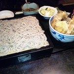 11661047 - 天丼と蕎麦のセット♪