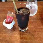 116611956 - ●ランチ rリガトーニのカルボナーラ 850+ランチドリンク アイスコーヒー 200=1,050円 2019年09月