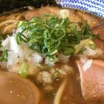 麺やまだ - 味玉濃厚中華そば アップ
