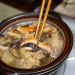 かたつむり - 2019.9 15種類の天然キノコ鍋