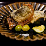 日本料理 晴山 - 鮎天