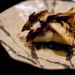 日本料理 晴山 - 舞茸焼き