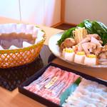 京都 瓢喜 - 料理写真:2019秋限定*松茸・鱧・京都ぽーくの秋鍋