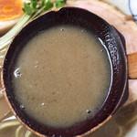 ちっきん - 秋刀魚らあめん スープ