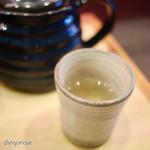 創作お茶漬け専門店 だよね。 - 出汁を少し飲む