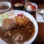 Youshokukimuraya - 2012.2カツカレー¥600
