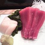 六本木 福鮨 - 肉厚の赤身のお刺身♪