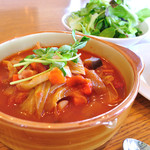 Healthy Cafe SANTE - スープメニューセット