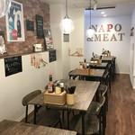 ナポリタン&ミートソース専門店 ちゃっぷまん - 入って左の、テーブル席(2019.10.1)