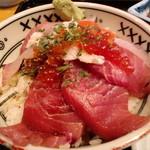 SAKA BAR 新助 - 海鮮丼
