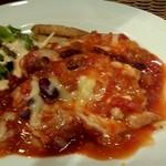 11663787 - 鶏ももと豆のトマトソース煮