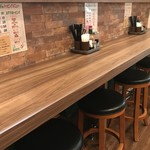 ナポリタン&ミートソース専門店 ちゃっぷまん - 入って右はカウンター席(2019.10.1)