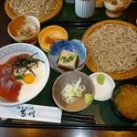 地鳥めん棒 玉川 - づけ丼ランチ(1150円)
