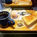 カワグチ喫茶 - モーニング