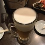 幸永 - ドリンク写真:始めの生ビール   飲み放題