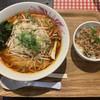 タイ国麺飯ティーヌン - 料理写真:トムヤムラーメン690円(税抜き)俗に便乗値上げというやつか。