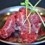 ジンギスカンとホルモンの店 さくら - 料理写真:牛ハラミ 900円