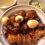 栄一 - 焼鳥丼 1,150円