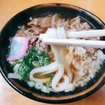 岡製麺所 - 料理写真:肉うどん