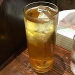 麻布ラーメン - 緑茶ハイ480円