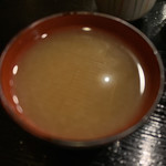 三平 - 蕎麦湯は濃いめ