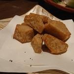イマザトひでぞう - 料理写真:小芋の唐揚げ