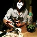 花きりん - 溶岩プレート焼きを作ってくれました