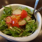 cafe FiKA - 料理写真:コースのサラダ
