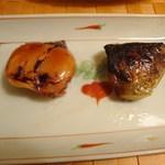魚久 人形町店 - 京粕漬焼いたもの②